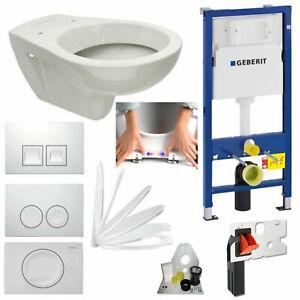Geberit Duofix Vorwandelement inkl. Design WC mit Beschichtung und Drückerplatte