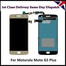 "MOTOROLA MOTO G5 Plus XT1682 XT1685 5.2"" LCD DISPLAY+TOUCH SCREEN DIGITIZER GOLD"