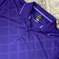 Greg Norman Adult XL Purple Short Sleeve Casual Polo Golf Shirt Men's