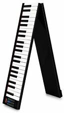 Akku Keyboard Digital 88 Tasten Piano USB MIDI klappbar Tasche Sustain Pedal