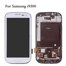 White For Samsung Galaxy S3 i9300 i9305 LCD Display Touch Screen Digitizer