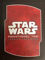 Star Wars Pocketmodel TCG Clone Wars Rare Cards