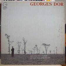 GEORGES DOR MES ORMES DANS LA PLAINES CANADA PRESS LP DISQUES GAMMA 1967