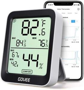 Govee Thermometer Hygrometer,Accurate Indoor Temperature Humidity Sensor  BNIB