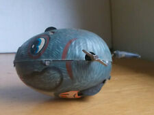 VINTAGE TIN MOUSE WIND UP TOY YONE MADE IN JAPAN STILL WORKS