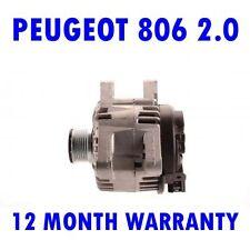PEUGEOT 806 2.0 HDI MPV 1999 2000 2001 2002 REMANUFACTURED ALTERNATOR