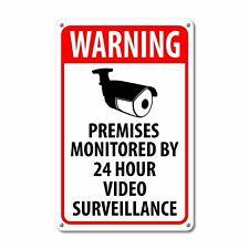 Letrero de vigilancia de seguridad