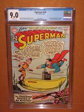 Superman #154 CGC 9.0! Just 17 higher in Census Mr. Mxyzptlk 12pix Ships INSURED