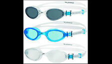 Speedo Futura One Adult  Kids Swimming Goggles ANTI FOG  clear smoke blue lens