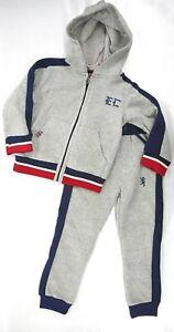 Boys English Laundry $44/$48 Lt Gray EL LOGO 2 PC. SWEATSUIT OUTFIT Sizes 4-12