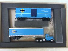 Athearn Special HO Trains Boxcar & Tractor Trailer Truck #2300 Box Set