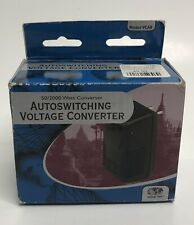Voltage Valet Voltage Converter Auto Switching Watt Converter VCAB 50 2000 Black
