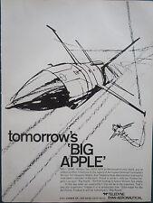 10/1970 PUB TELEDYNE RYAN AERONAUTICAL FIREBEE II TARGET F-15 ORIGINAL AD