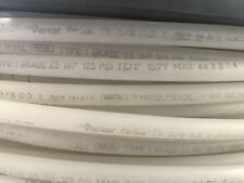 "Parker Parfex SMC TIUB11Y-153 White Poly Tubing,  3/8"" OD x 0.62 Wall, 500'"