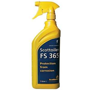 Scottoiler FS365 (FS 365) Corrosion Protector 1L Spray - Protects Against Salt