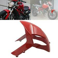 Red Front Fender Mud Guard Mudguard For Ducati Monster 696 796 1100 1100S EVO