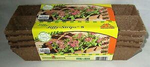 JIFFY SEED STARTER STRIPS 32 ct. Organic  [4 Strips OF 8]