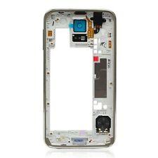 Samsung Galaxy S5 i9600 G900 SILVER Housing Bezel Frame Chassis B Grade