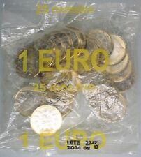 Ek // Sachets d'origine 1 euro Portugal 2004 : 25 Pièces