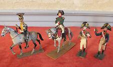 soldat cavalier Empire 4 pieces Napoleon jouet petits soldats