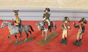 Soldier Rider Empire 4 Pièces Napoleon Toy Small Soldiers