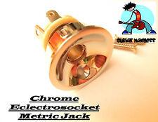 Chrome Tele Electrosocket Output Jack