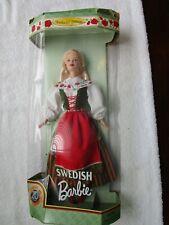 1999 Swedish Barbie Doll Dolls of the World 20th Anniversary