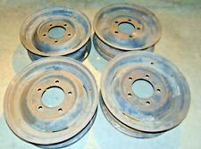 Austin Gypsy Land Rover Steel Wheels Rims 16x5-Set Of 2-Nice Original Shape-MT#2