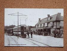 R&L Postcard: Groudle Tram Stations, Isle of Man 1906 ETW Dennis