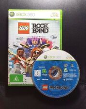 Lego Rock Band Rockband (Microsoft Xbox 360, 2009) Xbox 360 Game - FREE POST