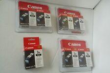 LOT-7 Canon BCI-3eBK Black Ink Cartridges for PIXMA iP3000 BJC-6000 4479A003 NEW