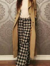New ListingMassimo Dutti Long Wool Camel Coat Xs Us 2 Uk 6 Manuella Made In Portugal