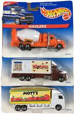 Hot Wheels Haulers 1998 - Lot Of 3