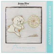 Brand New Bubba Blue Fly Away Cot Bumper Baby Boy Girl Vanilla
