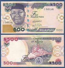 Nigeria 500 naira 2007 UNC p. 30 G