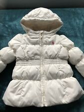 Ralph Lauren Baby Girls Quilted Jacket Gently Used Condition Size 12 M