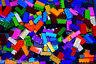 ☀️50 X LEGO 2x4 BRICKS MIX LEGOS ALL COLORS HUGE BULK LOT PARTS PIECES @ RANDOM