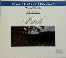 The Basic Bach (CD 2 Discs)  Critic's Choice RARE HTF FREE 1ST CLASS SHIP