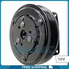 A//C Compressor Clutch Assembly Fits York Style 2 Groove 1 Wire 12 Volt CA300A