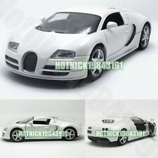 Bugatti Veyron Limited Edition 1:24 Diecast Alloy Model Car White Instock