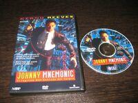 Johnny Mnemonic (Il Fuggire Maglietta Più Ricercato Del Futuro) DVD Keanu Reeves