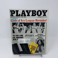 Playboy Magazine September 1979 Women of Ivy League