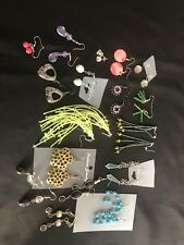 15 PAIRS EARRINGS Mixed Style & Designs Individually Packed Perfect Gifts Joblot