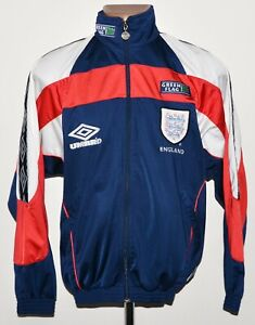 ENGLAND NATIONAL TEAM 1998/1999 TRAINING FOOTBALL JACKET UMBRO SIZE S ADULT