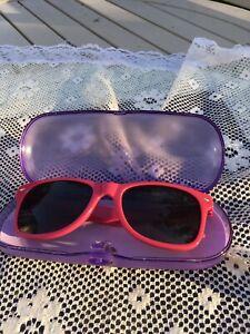 Ladies Joules Sunglasses Bright Pink Vgc In Case