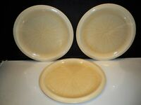 """3 FRANCISCAN DINNER PLATES """"SEA SCULPTURES"""" THE SEA URCHIN  10 1/2 ''"""