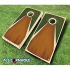 AJJCornhole 109-TarpisGreen Tarpis Green Chestnut Theme Cornhole Set with Bag...