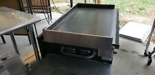 """36"""" Blackstone Griddle windscreen stainless for front drain"""