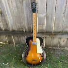 Vintage Lyle Sunburst Archtop Japanese Electric Guitar 1960s N-3 L0036 527