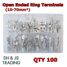 Assortiti Scatola di assortiti terminali ad anello aperto (10-70mm²) cavo a crimpare